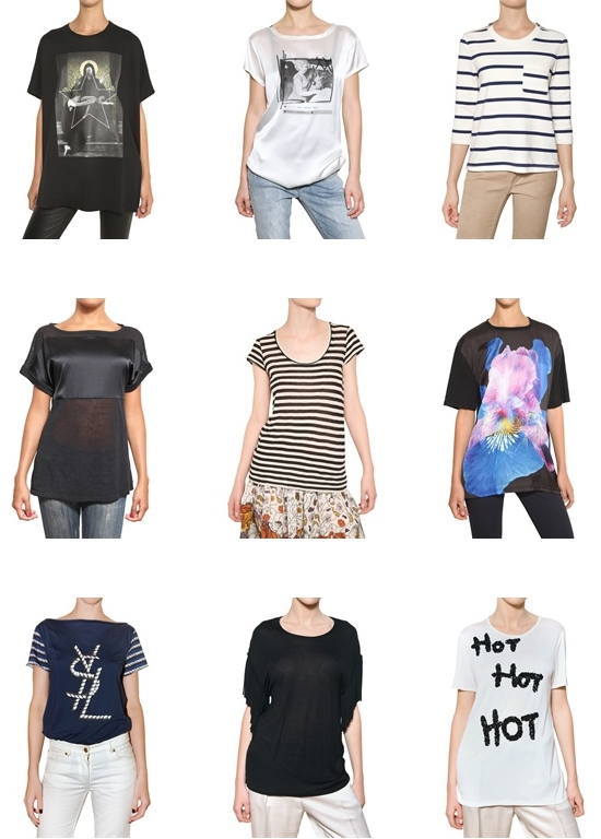 Модные майки на лето 2012: фото и.