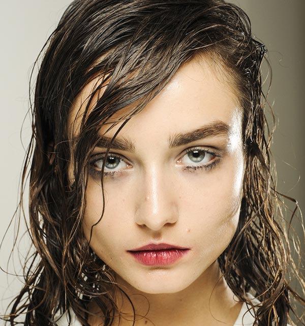фото эффект мокрых волос