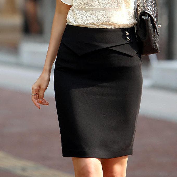 Прямой юбки