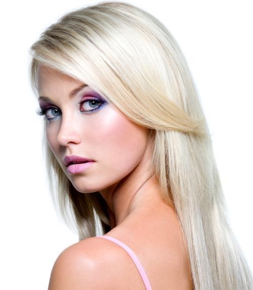 Как осветлить окрашенные в темный цвет волосы - a47d