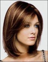 стрижка на густые волосы фото